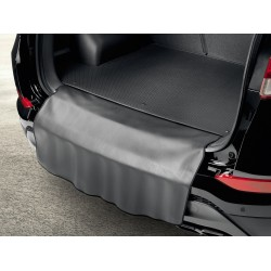 Rear bumper protection mat