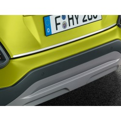 Rear bumper trim line,...