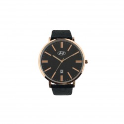 Wristwatch coppery