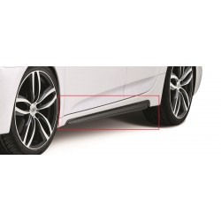 Side skirts, piano-black, i40