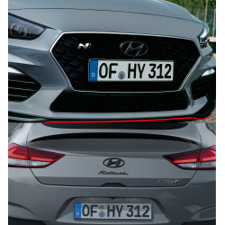 Hyundai Emblems black - Set...