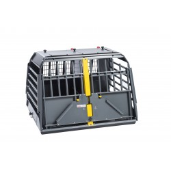 Dog transport box double - S