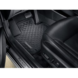 Rubber floor mats - Grey,...