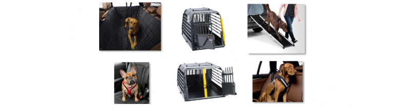 Dog transport boxes and Accessories